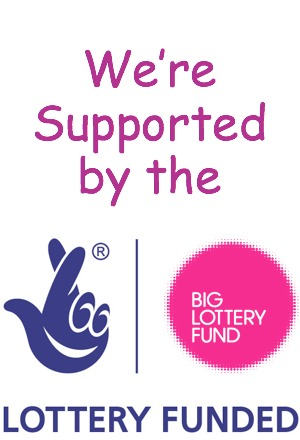 We're Supported by the Big Lottery Fund