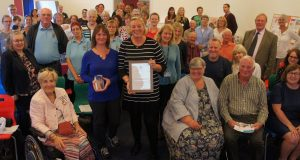 The Queen's Award with the HSWS team, family and friends