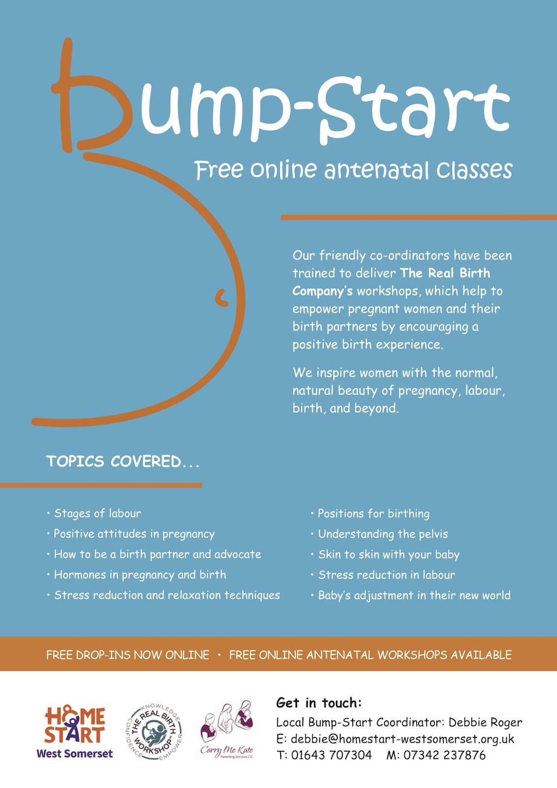 Bump-Start online poster